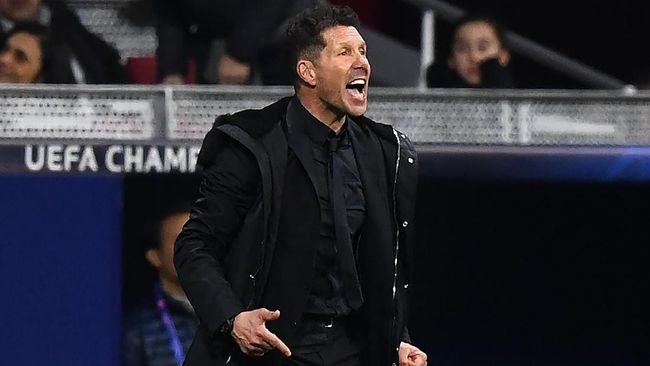 Atletico vs Juventus, Simeone Minta Maaf Pegang Alat Kelamin