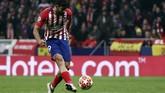 Striker Diego Costa sempat membahayakan gawang Juventus di babak kedua. Akan tetapi sontekannya masih menyamping di sisi kiri gawang Wojciech Szczesny. (REUTERS/Sergio Perez)