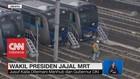 Ditemani Menhub & Gubernur DKI, Wapres JK Jajal MRT