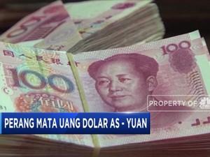 Perang Mata Uang Dolar AS Vs Yuan China