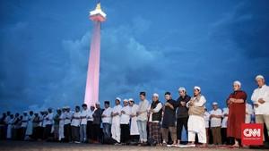 Nuansa dan Panorama Kampanye Pilpres di Malam Munajat 212