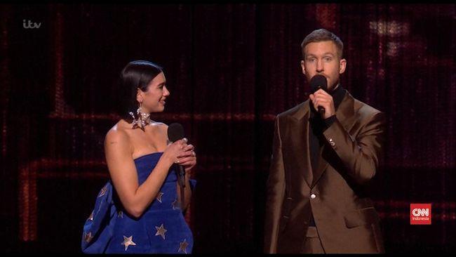 VIDEO Riang Little Mix dan Dua Lipa Menang Brit Awards 2019
