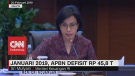 Januari 2019, APBN Defisit Rp.45,8 T