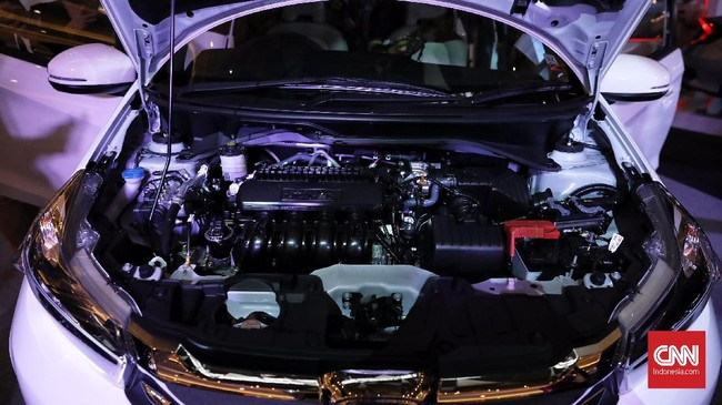 Jantung penggerak masih menggunakan mesin kapasitas 1.500 cc bertenaga 116 tenaga kuda dan torsi 145 Nm. (CNN Indonesia/Hesti Rika)