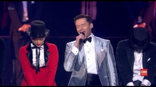 VIDEO: Tampilan Memukau Hugh Jackman Buka Brit Awards 2019