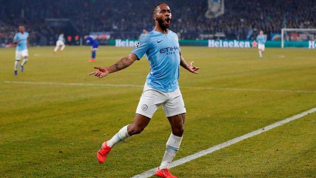 Sempat Tertinggal, Man City Kalahkan Schalke 3-2