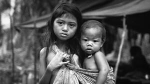 FOTO : Transformasi Orang Rimba Jambi Jadi Orang Kota