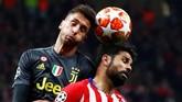 Pertandingan Atletico Madrid vs Juventus di Stadion Wanda Metropolitano di leg pertama babak 16 besar Liga Champions merupakan pertemuan ketiga bagi kedua tim di Liga Champions. (REUTERS/Juan Medina)