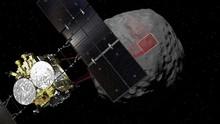 Pesawat Antariksa Jepang Sentuh Permukaan Asteroid Ryugu