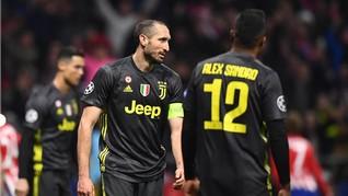Dikalahkan Atletico, Saham Juventus Anjlok