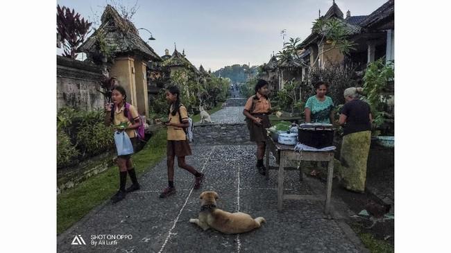 Fotografer: ALI LUTFI. Lokasi: Desa Penglipuran, Bangli