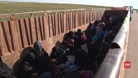 VIDEO: Warga Dievakuasi dari Benteng Terakhir ISIS di Suriah