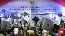 Jokowi 'Tutup Telinga' Tudingan Sertifikat Tanah Tak Berguna