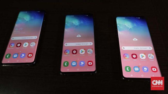Perbandingan Spesifikasi Dan Harga Trio Samsung Galaxy S10