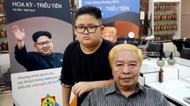 Salon Vietnam Tawarkan Potong Rambut Gratis Gaya Kim Jong-un