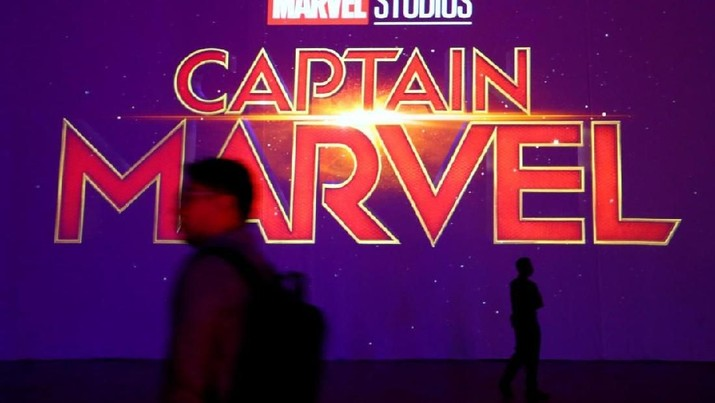 Belum Tayang, Captain Marvel Catat Rekor Box Office