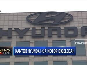 Kantor Hyundai - KIA Digeledah