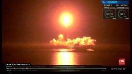 VIDEO: SpaceX Falcon 9 Boyong Robot Israel