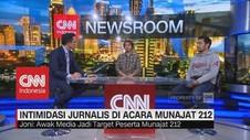 Kronologi Intimidasi Jurnalis di Acara Munajat 212 (1/2)