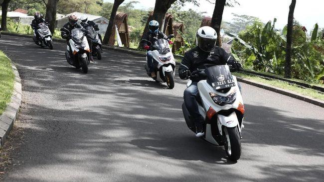 Tes Kemampuan Ban Corsa untuk Skutik 150 cc