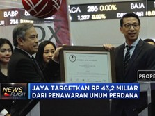 JAYA Melantai di Bursa Efek Indonesia