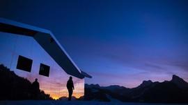 FOTO: Kabin Cermin di Swiss