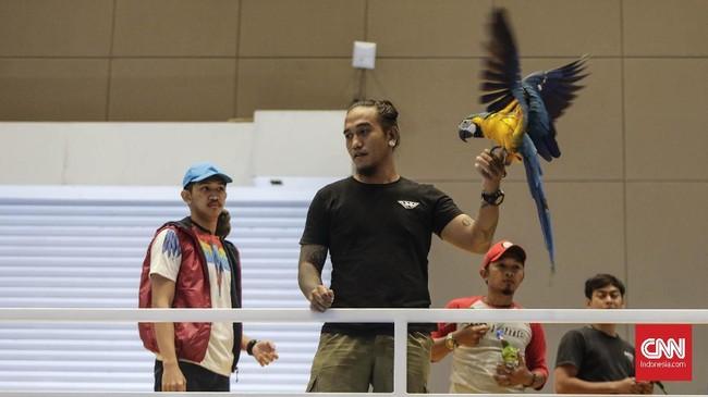Acara ini digelar di hall B1, B2, B3, dan C3 JIExpo Kemayoran, Jakarta. (CNN Indonesia/Adhi Wicaksono)