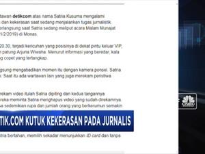 Tolak Kekerasan pada Jurnalis