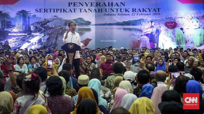 PDIP: Jokowi Punya Kredo Tanah untuk Rakyat