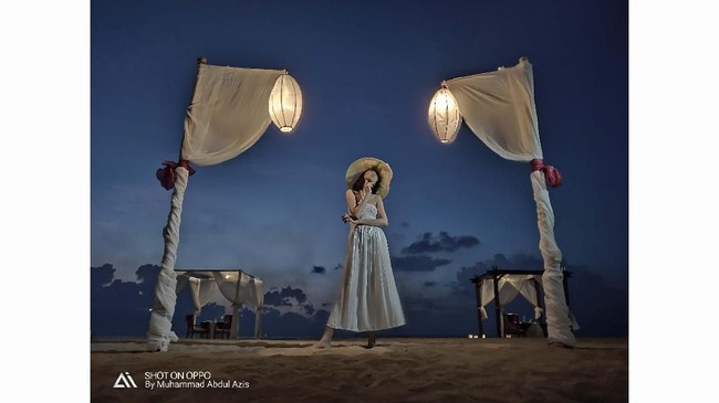 Fotografer: M ABDUL AZIS. Lokasi: Pantai di Restoran Ma Joly, Kuta