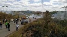 Militer Venezuela Tembak Mati Warga yang Perjuangkan Bantuan