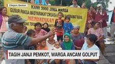 Tagih Janji Pemkot, Warga Ancam Golput