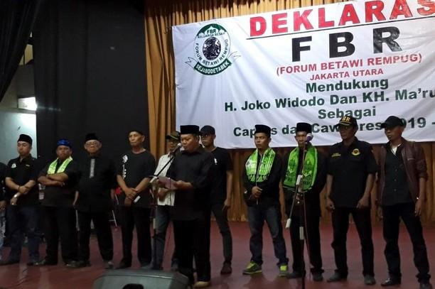Dukungan FBR untuk Jokowi Dua Periode