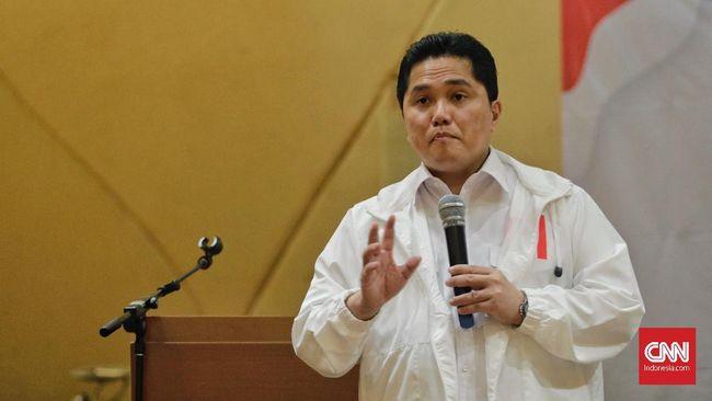 Erick Thohir Sebut Pidato Kebangsaan Jokowi Tak Tiru Prabowo