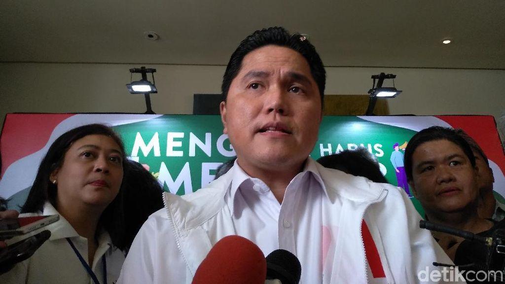 Erick Thohir: Jokowi akan Sampaikan Program Baru dalam Konvensi Rakyat
