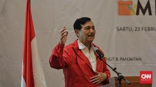 Luhut Usul Pemilik Lahan Sawit 'Bandel' Didenda