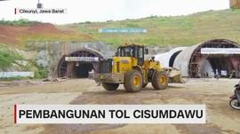 Pembangunan Tol Terowongan Cisumdawu