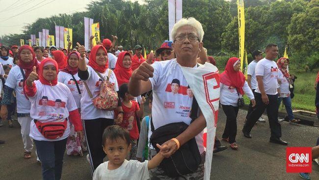 Pidato Jokowi, Relawan hingga Anak-anak 'Putihkan' SICC