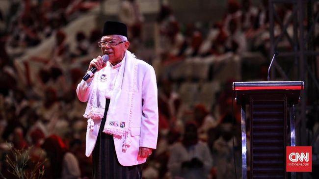 Ma'ruf Amin Usul Biro Haji Harus Bersertifikat Syariah