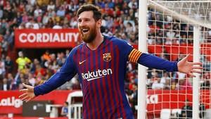 Barcelona Kalahkan Sevilla, Messi Sebut Kompetisi Belum Usai