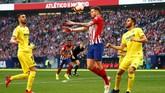 Don Balon mengklaim Manchester City sudah mempersiapkan £86 juta untuk mendapatkan Saul Niguez dari Atletico Madrid. Niguez dipersiapkan sebagai pengganti Fernandinho yang sudah 33 tahun. (REUTERS/Javier Barbancho)