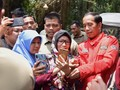 Awali Pidato, Jokowi Kenang Masa Kecil hingga Peran Istri