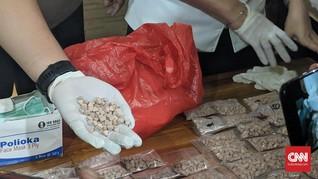 Sita 9.000 Butir MXE, Polisi Sebut Narkotika Jenis Baru