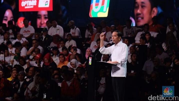 Jokowi-Ma'ruf akan menyampaikan visi pembangunan Indonesia 2019-2024.