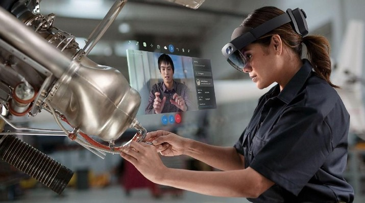Microsoft Habis-habisan di Teknologi 'Jarvis Iron Man'