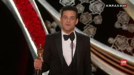 VIDEO: Kemenangan Rami Malek dan Olivia Colman di Oscar 2019