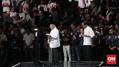Jokowi Saksikan Langsung Debat Cawapres Ma'ruf Lawan Sandi