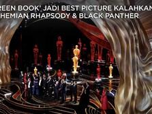 Deretan Film dan Artis Pemborong Piala Oscar 2019