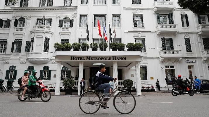 Kedua pemimpin tersebut akan bertemu di Hanoi pada hari Rabu dan Kamis (27-28 Februari).