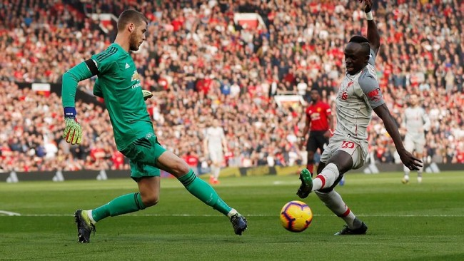 Liverpool tak punya banyak peluang untuk mencetak gol. Skor 0-0 bertahan hingga akhir pertandingan. (Reuters/Lee Smith)